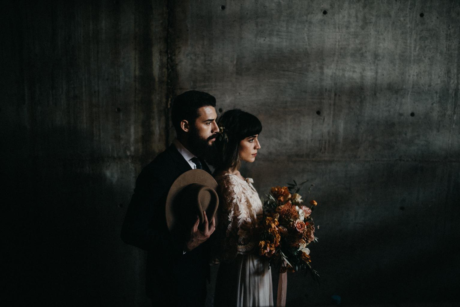 cuatro cuatros wedding