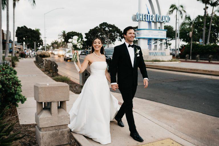 point loma shelter island san diego wedding